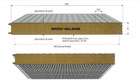 Labi panel fachada ac stico lana de roca for Aislamiento lana de roca